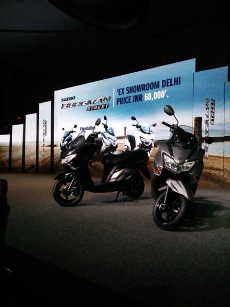 Suzuki Burgman Street 125 India (1)