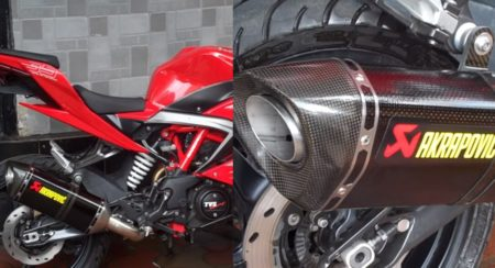 TVS Apache RR310 - Akrapovic - Feature Image