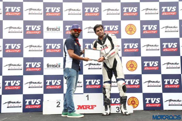 TVS Apache Young Media Racer Programme (25)