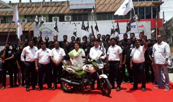 TVS Organises 'Kargil Calling – Ride for the Real Stars' (1)