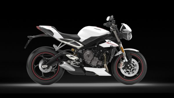 Triumph Street Triple RS – Crystal White (2)