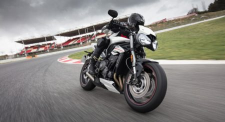 Triumph Street Triple RS - Crystal White (3)