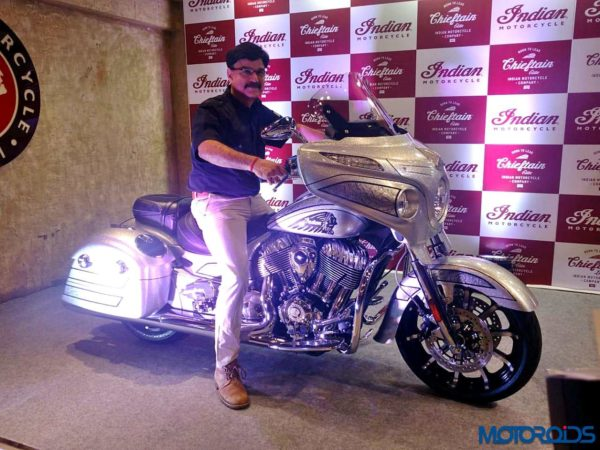 2018 Indian Motorcycle Chieftain Elite Launched In India (2)