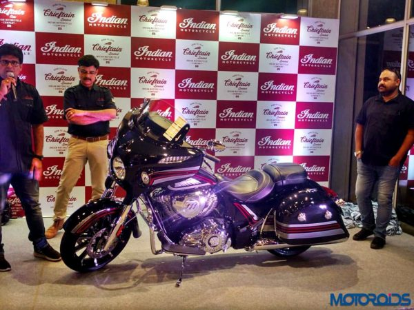 2018 Indian Motorcycle Chieftain Limited Launched In India (1)