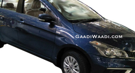 2018 Maruti Suzuki Ciaz Diesel Spied Ahead Of India Launch