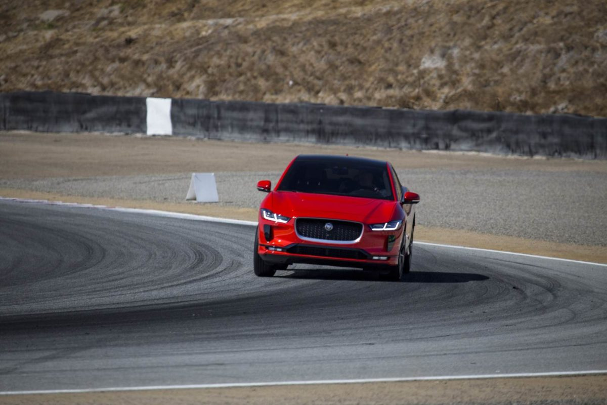 2019 Jaguar I Pace HSE First Edition Laguna Seca Hot Lap (1)