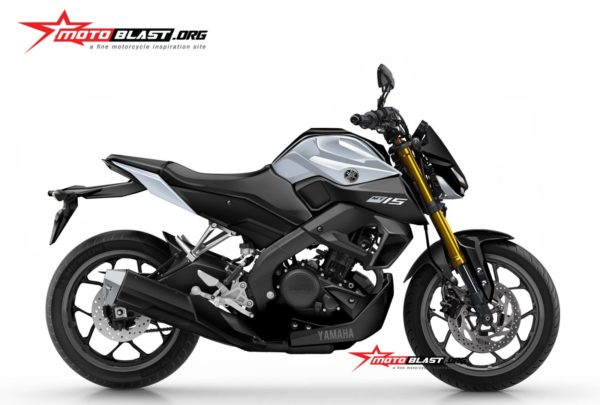 2019 Yamaha Xabre (MT 15 Or M Slaz 150) Render (1)