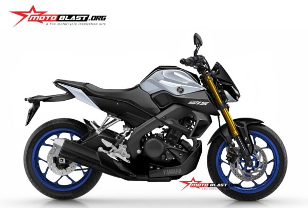 2019 Yamaha Xabre (MT 15 Or M Slaz 150) Render (4)