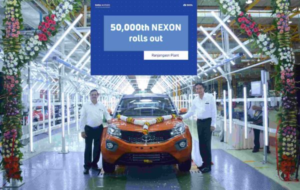 50,000th nexon rolls out