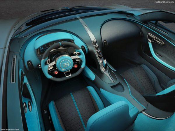 Bugatti Divo 2019 interior 2