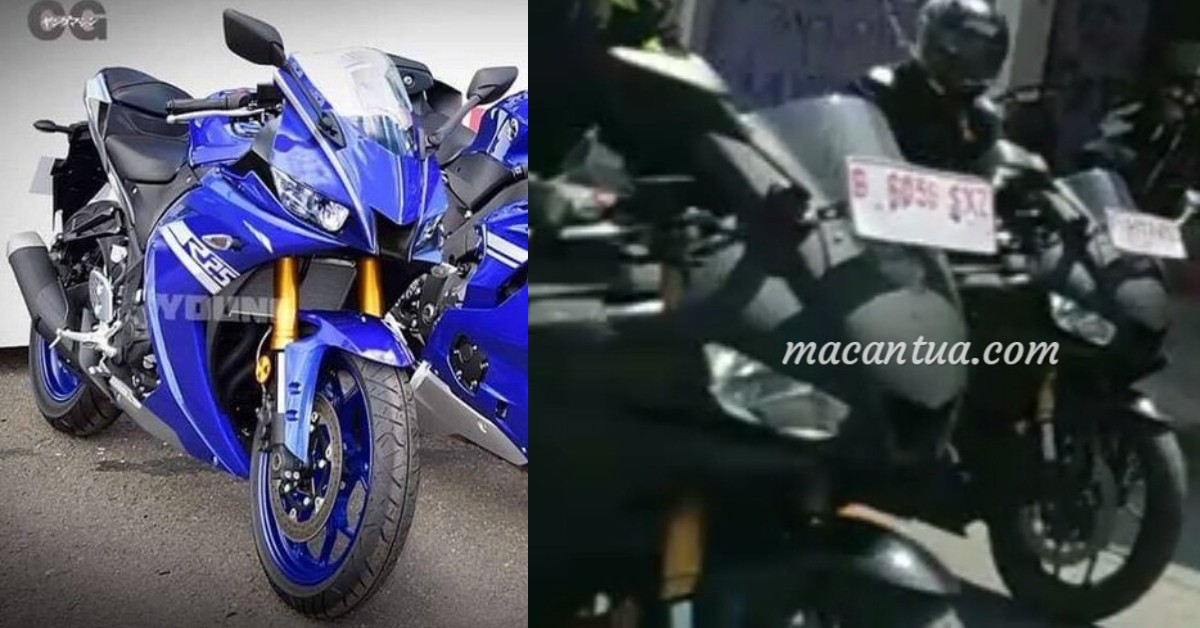 Did They Photograph The 2019 Yamaha Yzf R25 Yzf R3 With Yzf R6 And