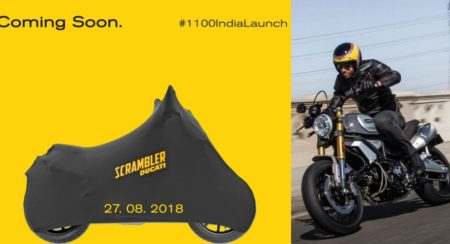 Ducati Scrambler 1100 - India Launch Details Revealed - Feature Image