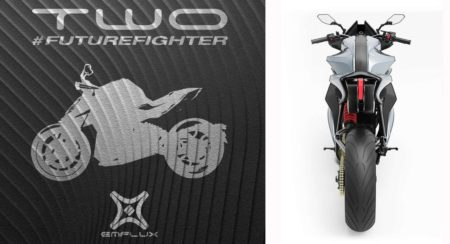 Emflux Two Electric Streetfighter Motorcycle Teased
