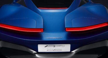 First Official Image Of Automobili Pininfarina PF0 Electric Hypercar Concept Model Released