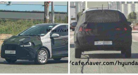 SPIED: New Gen Hyundai Grand I10 Spied Testing