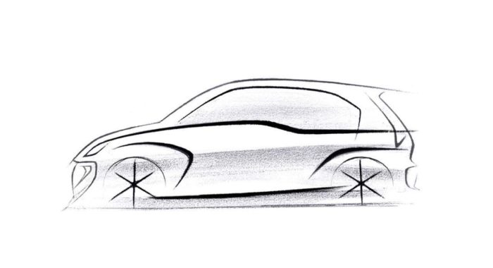 released  first sketch of the hyundai santro successor
