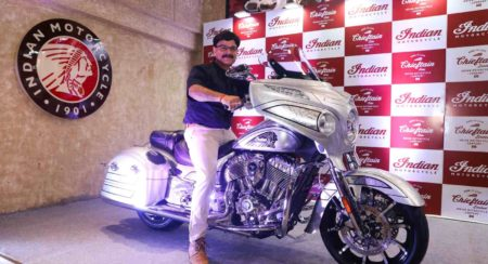 Indian Chieftain Elite Launched In India