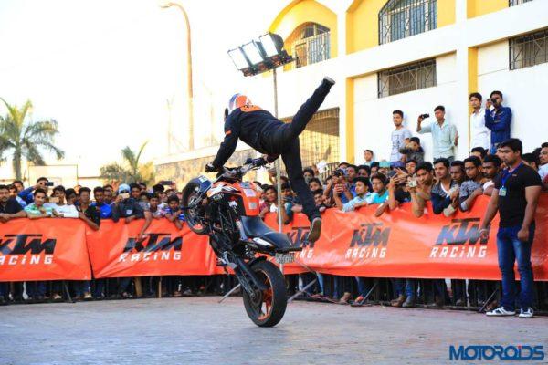 KTM Stunt Show Set To Entertain Delhi On August 25
