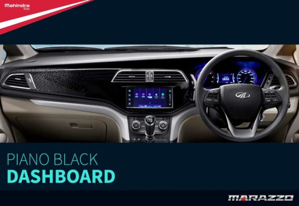 Mahindra Marazzo Dashboard Revealed