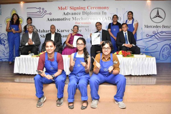 Mercedes Benz To Start An All Women Mechatronics Course In India