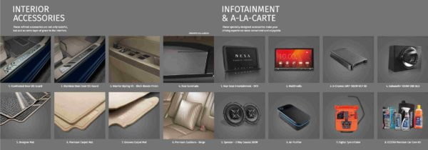 New 2018 Maruti Suzuki – Accessories (5)