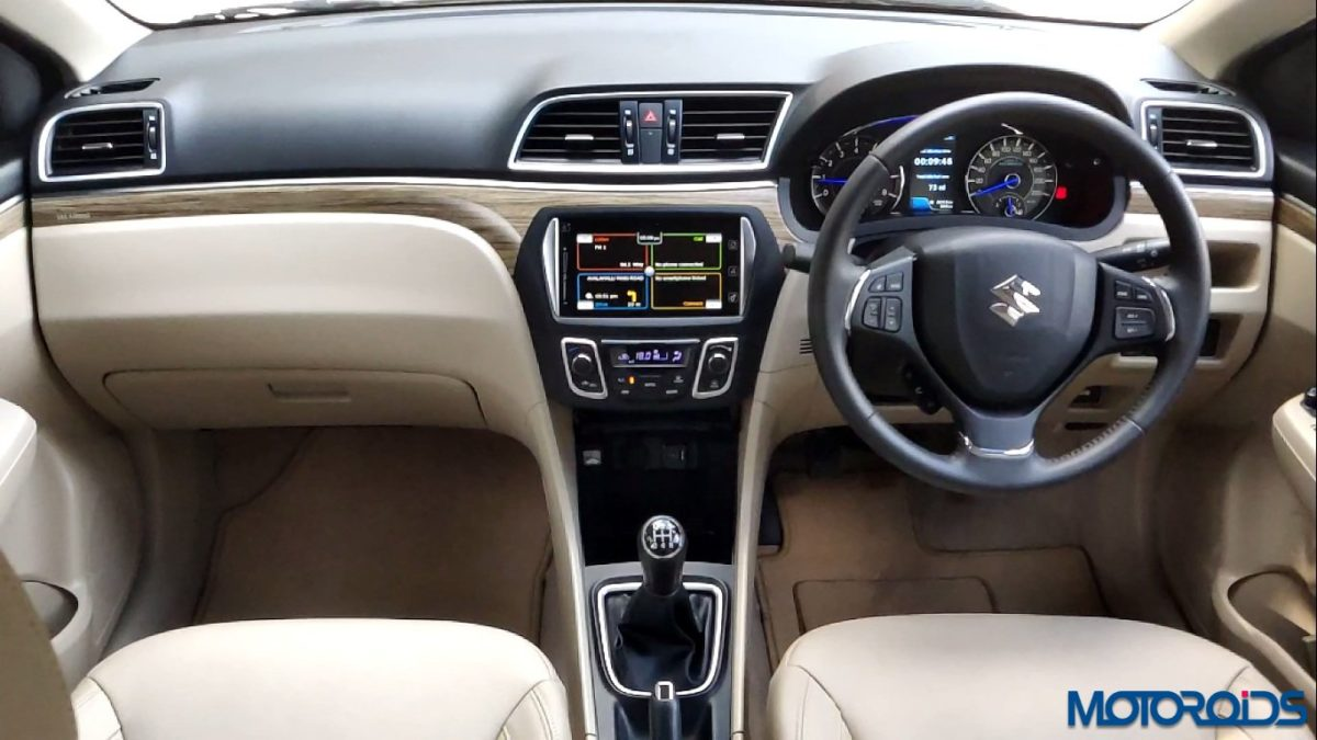 New 2018 Maruti Suzuki Ciaz interior centre