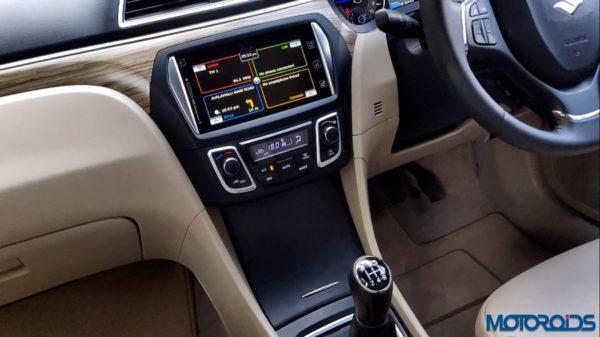 New 2018 Maruti Suzuki Ciaz interior top