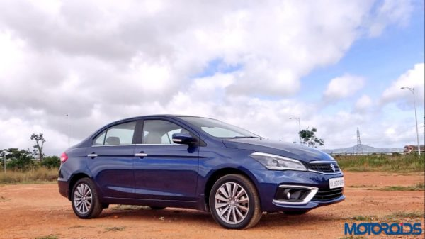 New 2018 Maruti Suzuki Ciaz low side