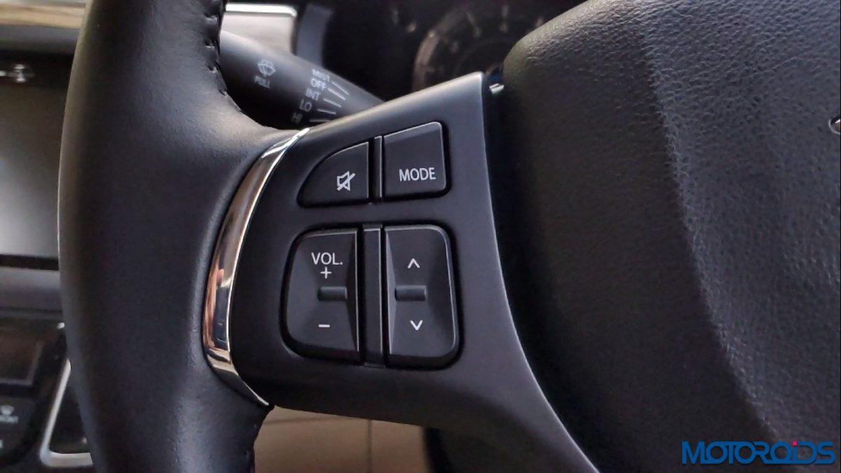 New 2018 Maruti Suzuki Ciaz steering control