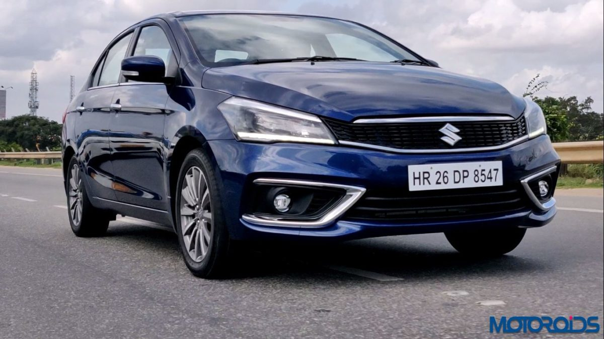 New 2018 Maruti Suzuki Ciaz trackin front zoom out