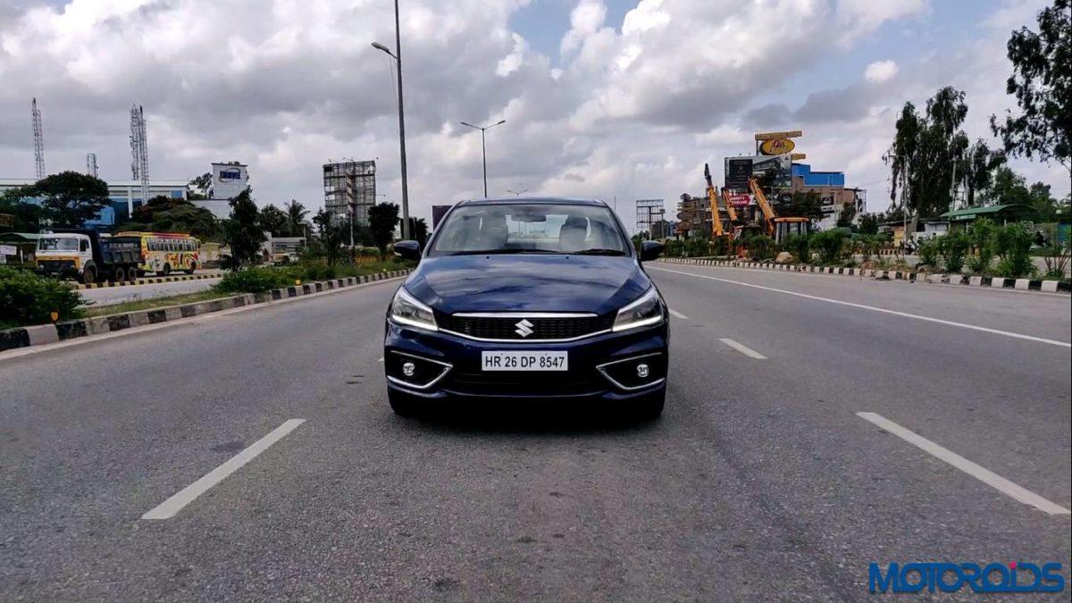 New 2018 Maruti Suzuki Ciaz tracking front