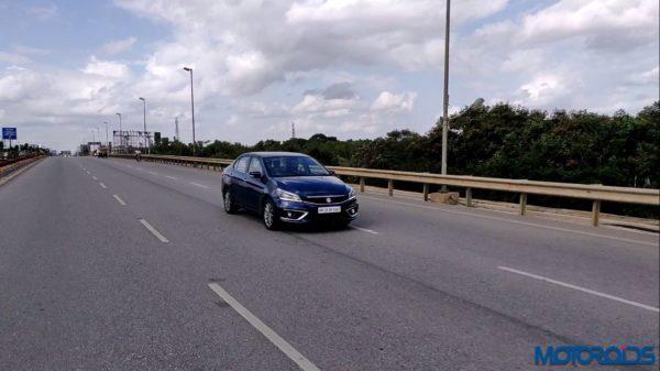 2018 Maruti Suzuki Ciaz - Tracking on Road