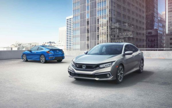 2019 Honda Civic Sedan and Coupe