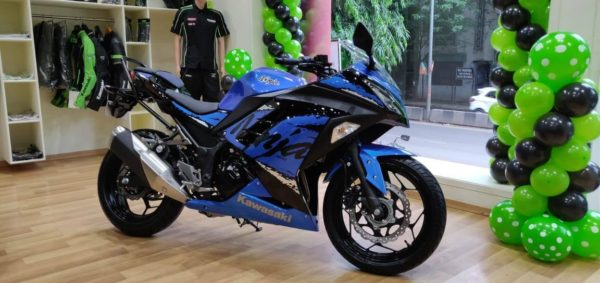 New Kawasaki Ninja 300 With Locally Produced Parts Launched In India (1)
