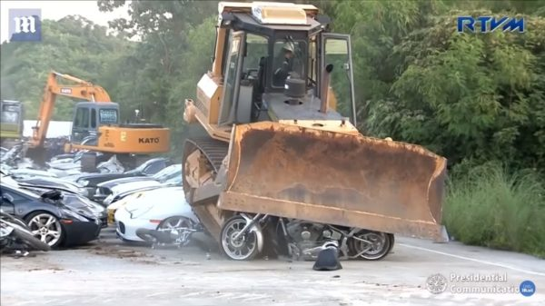 Performance And Luxury Cars Destroyed In Philippines (3)