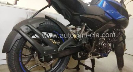 Pulsar NS 160 blue rear disc rear