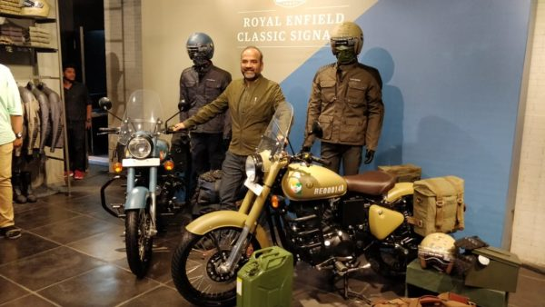 Royal Enfield Classic Signals launch president of RE