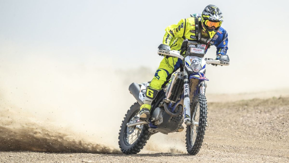 Santolino Lorenzo (TVS Racing) - India Baja 2018
