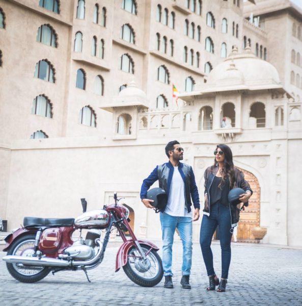 Savi Munjal and Vidit Taneja of Bruised Passports – Jawa 250 In Jaipur (1)