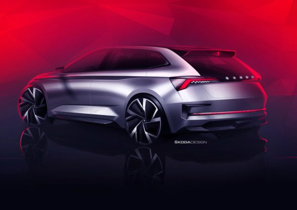 Skoda Vision RS Gives A Glimpse Of Next RS Generation And A Future Compact Car (2)