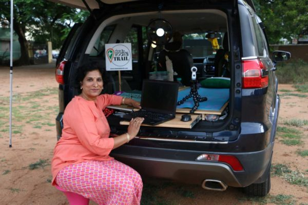Tata Motors Partners with Sangeetha Sridhar To Drive 'Clean India Trail' Initiative (1)