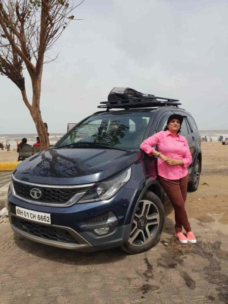 Tata Motors Partners with Sangeetha Sridhar To Drive 'Clean India Trail' Initiative (2)