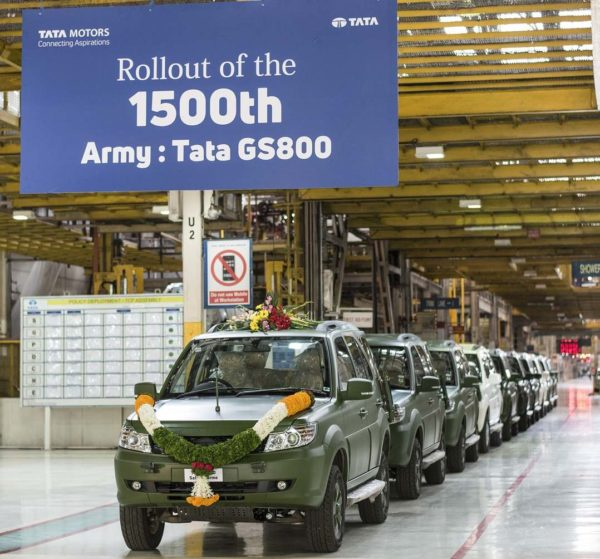 Tata Motors Rolls Out 1,500th GS800 Safari Storme For The Indian Army (3)