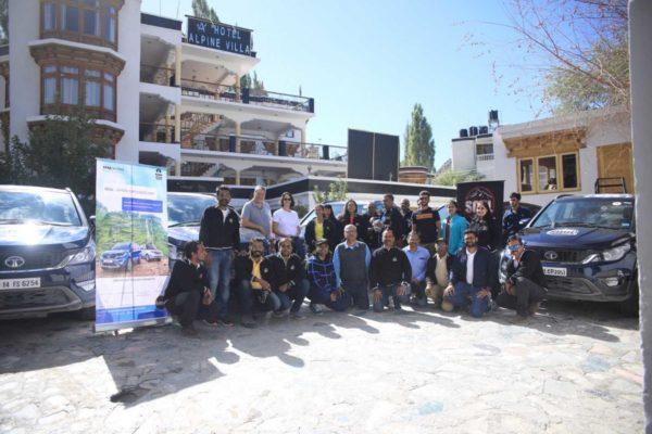 Tata Motors SOUL 'Iconic Ladakh Drive, Mountain Trail, August 2018' Concludes