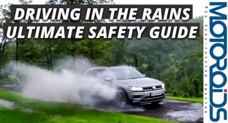 Tech Talks With Motoroids: Tips For Driving Safe In The Rains / Wet Weather