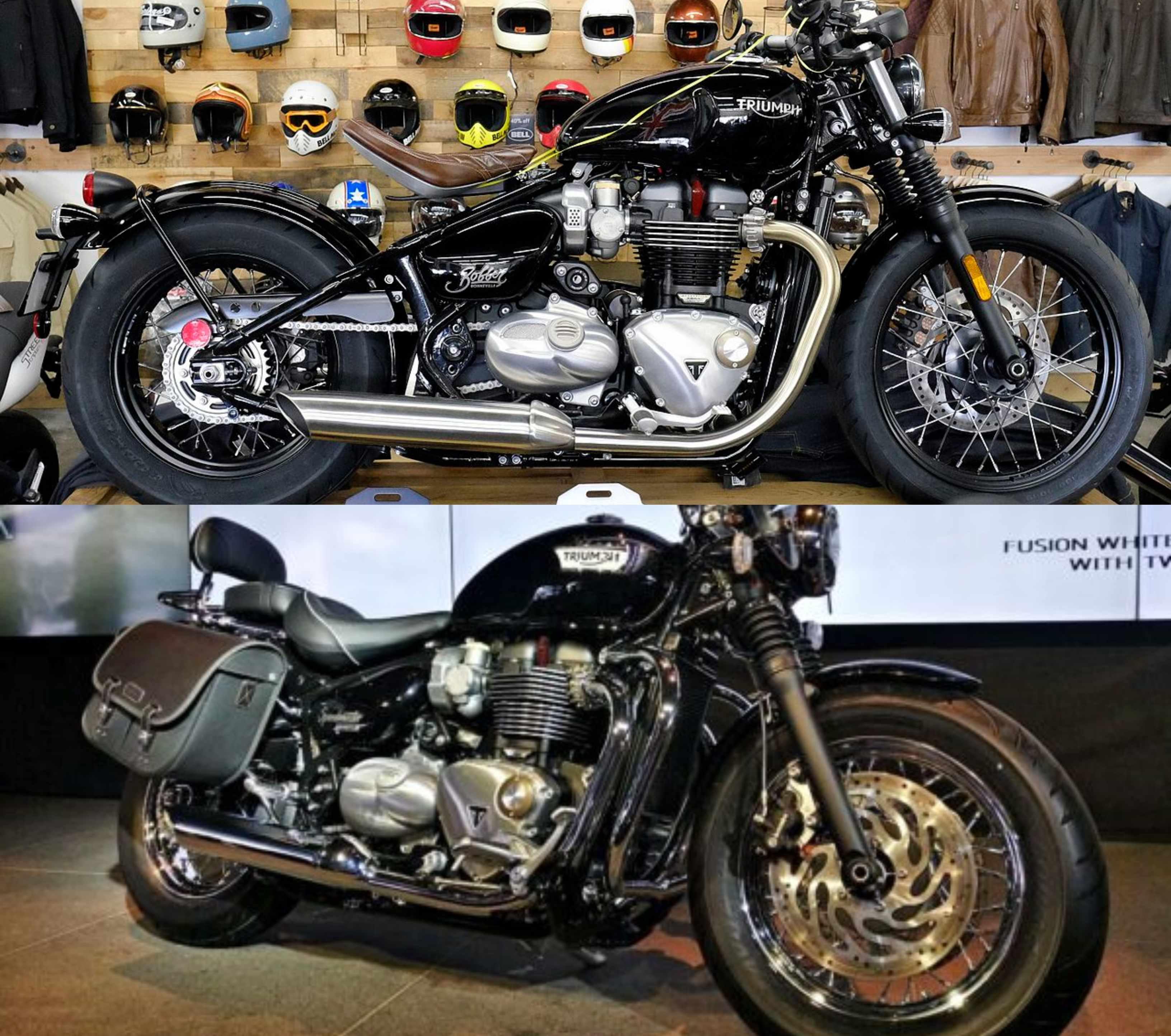Triumph Bonneville Bobber & Speedmaster