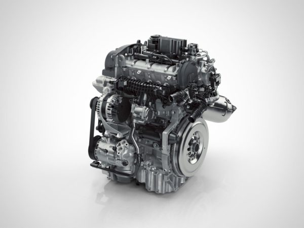 Drive E 3 cylinder Petrol engine front