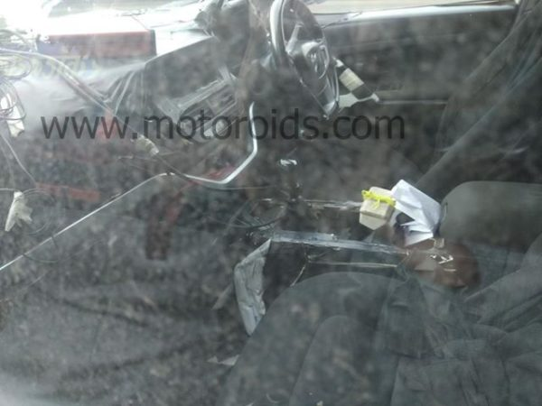 harrier new spyshot interior