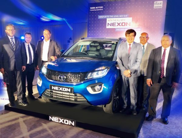 tata nexon sri lanka launch group
