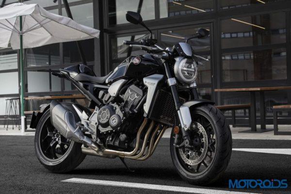 Upcoming Bikes In India: 2018 CB1000R Side